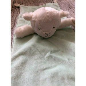 Carters Lamb lovey Security Blanket Plush soft